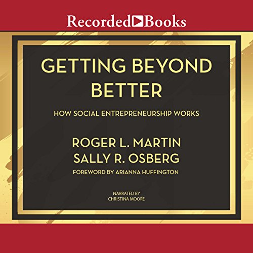 Getting Beyond Better audiobook cover art