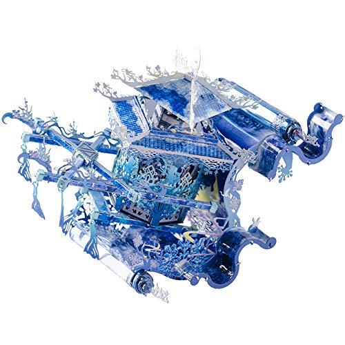 MU Lunar Dyed Dawn 3D Metall Puzzle Modell Kits DIY 3D Modell-Bausatz Spielzeug YM-N100-B-C