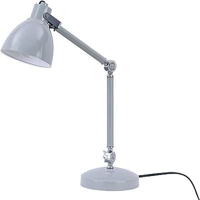 SEI Furniture AMZ2S4418TL Shawn Table lamp Set, Gray