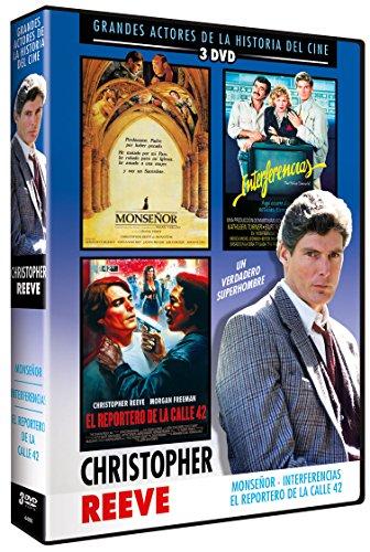 Pack Christopher Reeve 3DVD Interferencias + Monseñor + Reportero de la calle 42