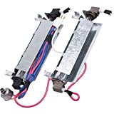 WR51X442 Defrost Heater & Thermostat Replacement Part by Blue Stars - Exact Fit for General Electric Kenmore & Hotpoint Refrigerators - Replaces AP2071464 WR51X0342 WR51X0371