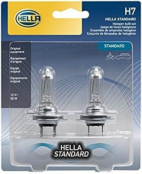 2-Pack HELLA 12 V Standard Halogen Bulbs