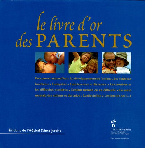 Le livre d'or des parents