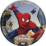 Procos 85152 Ultimate Spider Man Web Warriors - Platos de Papel (20...