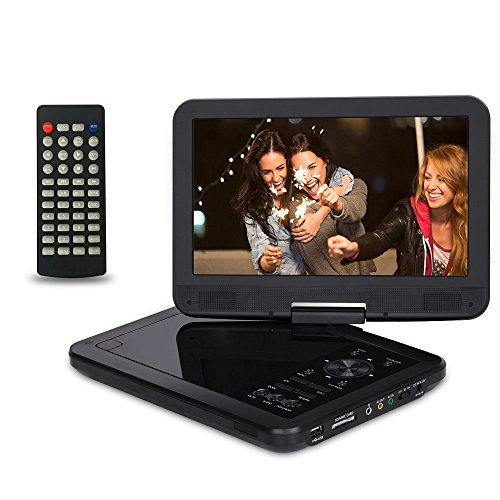 Best Prices! Saachi PDVD-1089 10.1 All Multi Region Free Portable DVD Player 270 Degree Screen 4.5 ...