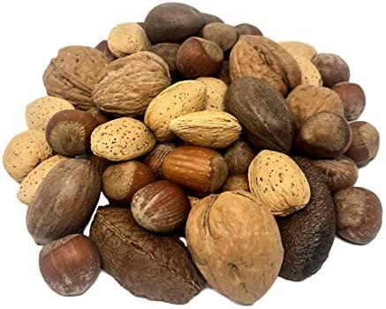 NUTS U S Mixed Nuts In Shell Almonds Walnuts Hazelnuts Pecans Brazil Nuts No Added Colors and product image