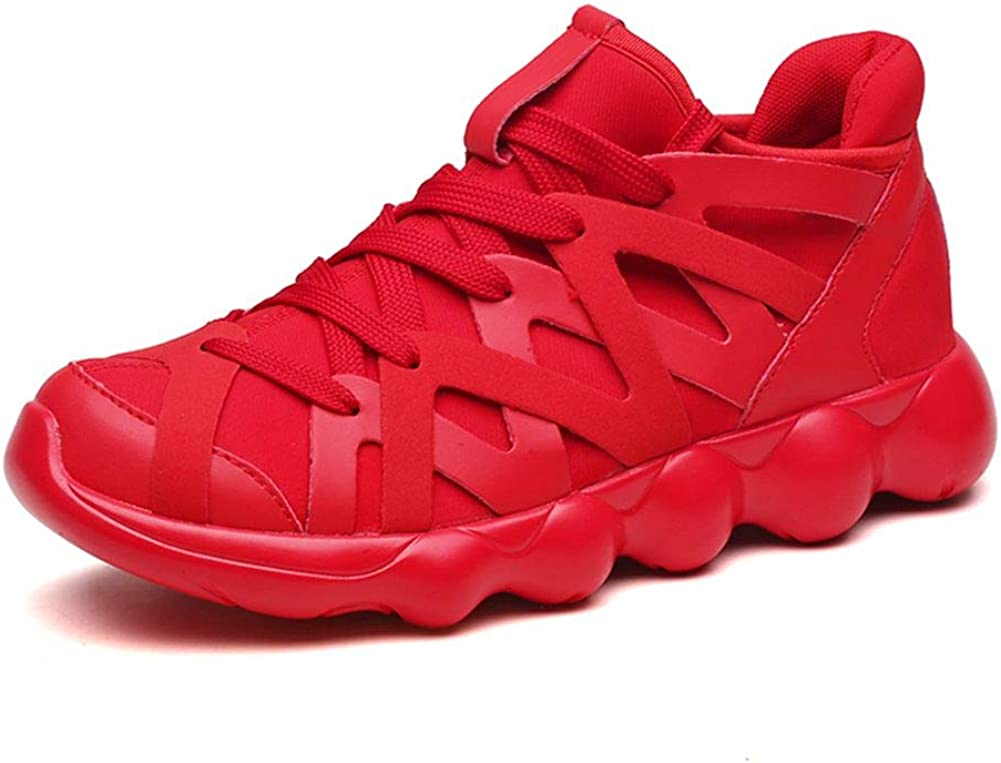 Columbus Mall WELRUNG Men's Tucson Mall Basketball Shoes Master Soft Streetball Breathable