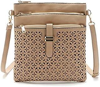 Generic Women's fashion Retro Hollow Shoulder Diagonal package Color A5
