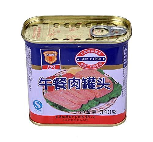 梅林午餐肉 ランチョンミート 味付け豚肉 340g