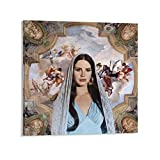 XYDD Sänger-Poster Lana Del Rey, Gemälde, Kunst, Vintage,
