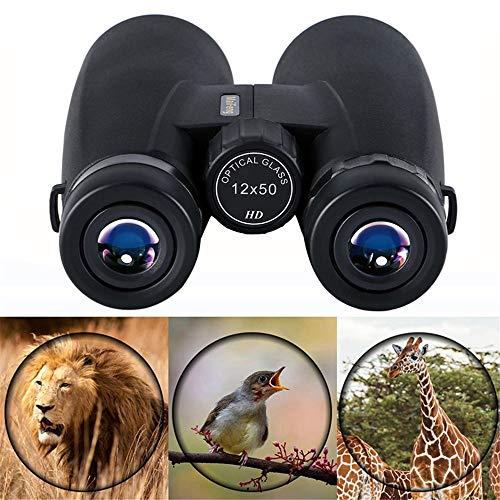 WQY Professionelles 12X50 HD Fernglas Leistungsstarkes Teleskop Taktisches Zielfernrohr Nachtsichtfernglas Bei Schlechten Lichtverhältnissen Für Die Vogelbeobachtungsjagd