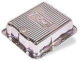 B&M 70289 Chrome Steel Extra Depth Transmission Pan