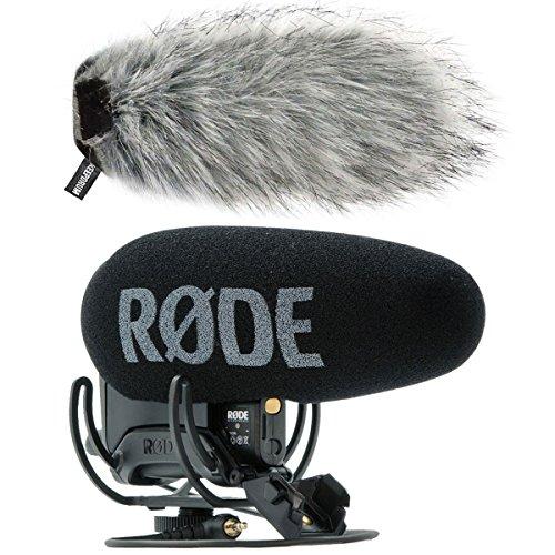 Rode Videomic Pro Plus Kamera-Mikrofon + keepdrum Fell-Windschutz WS03