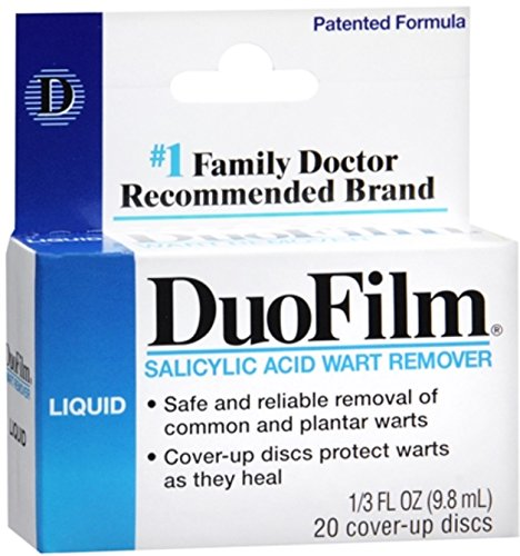 DuoFilm Wart Remover Liquid 0.33 oz (Pack of 10)