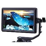 FEELWORLD S55 5.5インチ カメラ DSLR フィールド モニター 小型フルHD 1280x720 IPS ビデオピーキングフォーカスアシスト、4K HDMI 8.4V DC入力/出力、チルトアームを含む【一年間保証&日本語設定可能】