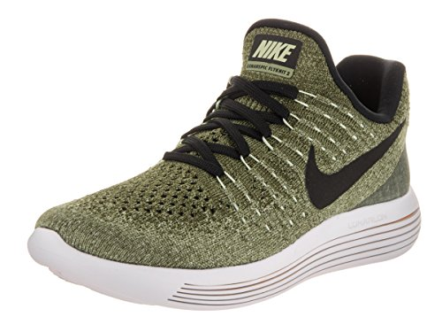 Nike Women's Lunarepic Low Flyknit 2 Running Shoe (6, Palm Green/Black/Vapor Green/Rough Green)