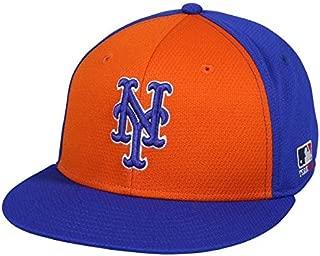 OC Sports MLB-400 MLB Mesh Baseball Cap - New York Mets Colorblock