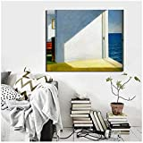 Gerahmter Leinwanddruck mit Edward Hopper Rooms by The Sea