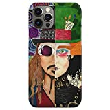 Mad and Johnny Hatter Charlie Depp Scissorhands Chocolate Sparrow Tim Edward Burton Colorful Willy Factory Wonka The Jack - Phone Case for All of iPhone 12, iPhone 11, iPhone 11 Pro, iPhone XR, iPho