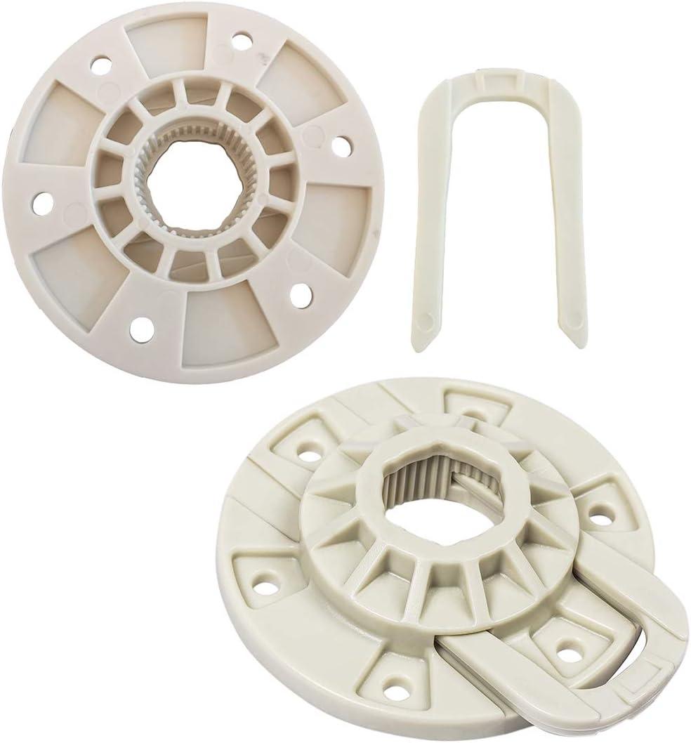 Juego de 2 unidades W10528947 de repuesto para lavadoras Maytag Whirlpool Kenmore – Sustituye al número AP5665171 2684908 EAP6012095 PS6012095 W10396887 W10528947VP