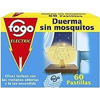 Fogo AntiMosquitos Recambios de Insecticida Eléctrico para Mosquitos - Formato 60 Pastillas