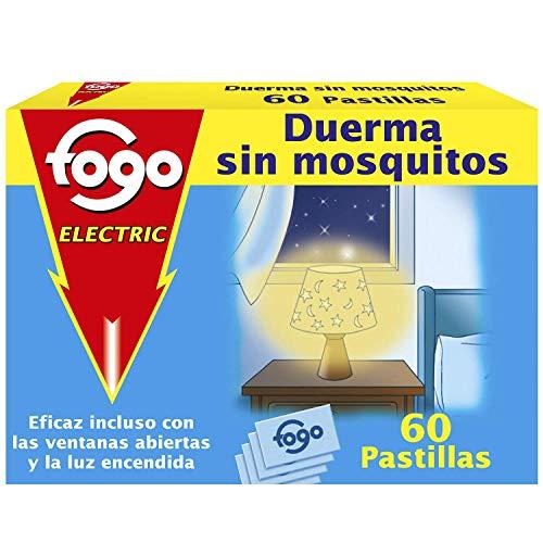 Fogo Insecticida Insectos 60 pastillas para aparato eléctrico