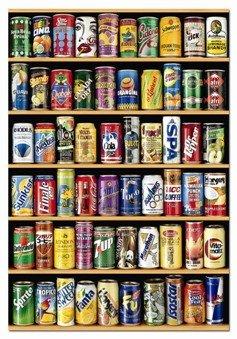 Puzle estantería de refrescos de 1500 piezas de Educa