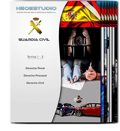 Pack Temario completo Ingreso Guardia Civil 2021 Neoestudio + Libro guía ¡GRATIS!