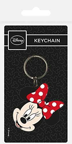 Key chain Disney - Llavero de Goma Minnie Head