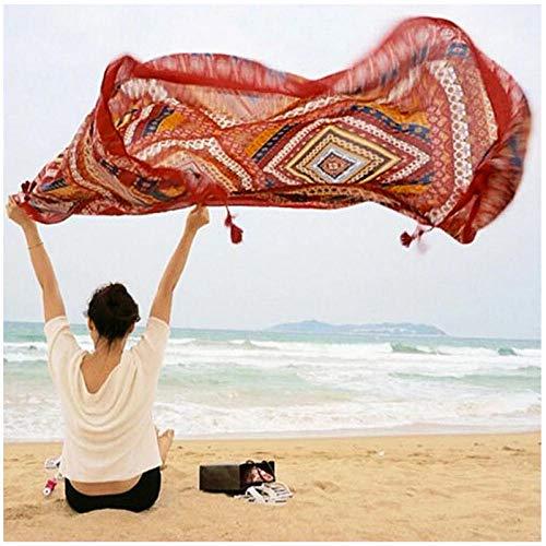 Moda Bohemia Impresión Nacional Tapiz Colgante de Pared Playa Yoga Mat Decoración Boho Chales Envuelve Bufandas 150x130cm