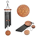 Famiry Wind Chimes Outdoor Deep Tone, 36 Inch Large Wind Chimes Outdoor Sympathy, Memorial Wind Chimes with 5 Metal Tubes & Hook, Outdoor Decor for Garden, Patio, Yard, Home