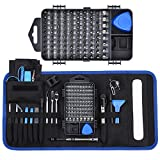 139 in 1 Precision Screwdriver Set, Professional Computer, Laptop Repair Tool Kit Set, with 98 Magnetic Bit and 41 Repair Tools, Suitable for Cell Phone, Iphone, Tablet, Macbook, Xbox and PC Repair