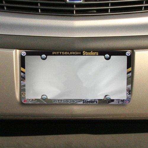 NFL Pittsburgh Steelers Stadium Plastic License Plate Frame
