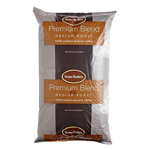Farmer Brothers Premium Blend 100% Arabica Ground Coffee - 5 lb. Bag