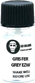 SD COLORS Gris Fer Grey EZW Ausbesserungslack, 5 ml, Reparatur Pinsel, Farbcode EZW, Gris Fer Grey (Just Paint)
