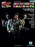 jimi hendrix - smash hits: easy guitar play-along volume 14 [lingua inglese]: smash hits vol. 14
