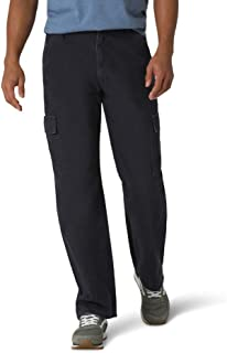 Authentics Men's Classic Twill Relaxed Fit Cargo Pant