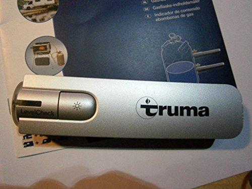 Truma Gasinhaltsmesser Level Check, silber, für Stahl- und Alu-Gasflaschen 200-350 mm