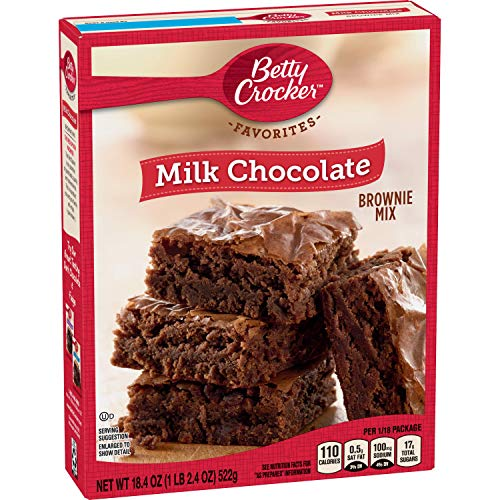 General Mills Betty Crocker Milk Chocolate Brownie, 18.4 oz