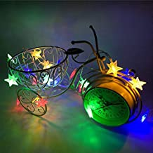 Led String Fairy Lights, Elevin(TM) 2M 10 LED Crystal Clear Star Fairy String Light Wedding Party Outdoor Decor Lamp (Multicolor)