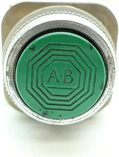 ALLEN BRADLEY 800T-A1 Green Flush Head PUSHBUTTON SER B D649643