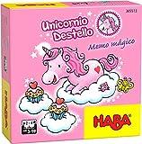 Haba- Unicornio Destello – Memo mágico-ESP Juego de Mesa (Habermass H305513)