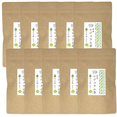Honjien tea ほんぢ園 健康茶 国産 シジュウム茶 ティーパック 3g×20p×10袋 セット /セ/ T