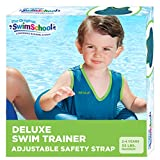 SwimSchool Original Deluxe TOT Swim Trainer for Kids, Toddler Swim Vest, Learn-to-Swim, Adjustable Safety Seat, Berry/Blue (Packaging may vary)