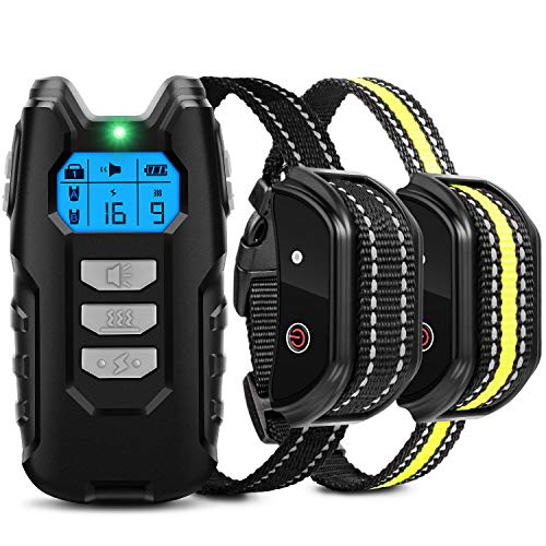 Flittor Dog Training and Dog Training Shock Collar for Dogs with E-Collar Remote Dog Training Collar