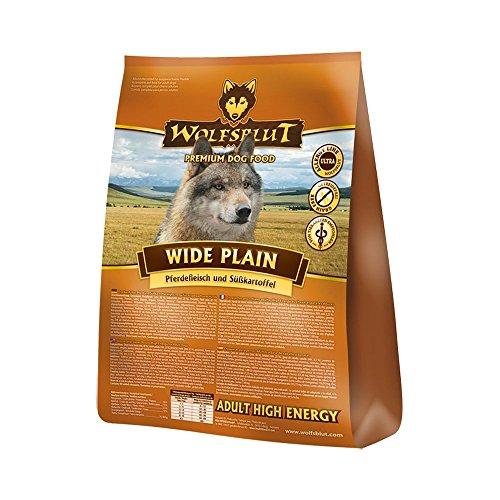 Wolfsblut | Wide Plain Active | 500 g | Pferd | Trockenfutter | Hundefutter | Getreidefrei