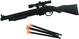 BG kids toy rifle gun with orange shooters for shooting stocking filler