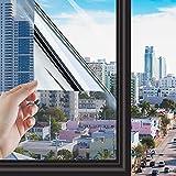 Syshwden Lámina de espejo autoadhesiva para ventana, protección...
