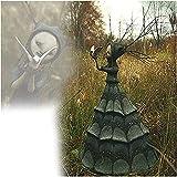 Die dunklen und bizarren Art-6.4in-gruseliger Hexe-Skulpturen, bizarre Kreaturen mit einer ungewöhnlich dunklen Unschuld, Kunstpuppenwald-Fantasie-Dekorationsstatue, Halloween Dekoration einzigartiges