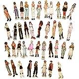 LZWNB Ilustración de moda chica linda etiqueta de dibujos animados Doodle Nota maleta impermeable decoración